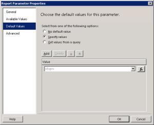 DefaultValuesParameter